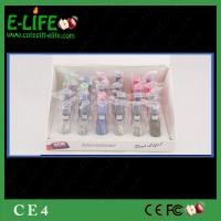 Buy cheap High Quality Wholes 24 pcs/display box CE4 Clearomizer Colorful atomizer CE4 eGo CE4 from wholesalers