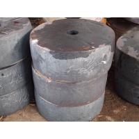 Buy cheap EN Forged Alloy Steel Disc Forging, Industrial Tube Sheet 20MnMoNb 1.5 m product