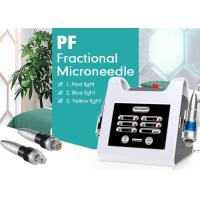 Buy cheap Portable Fractional RF Microneedle Skin Tightening Machine with Monopolar RF from wholesalers
