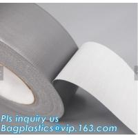 Buy cheap Custom Color and Size Heavy Duty Duct Tape,cloth duct tape silver insulation tape black carpet protection usage masking from wholesalers
