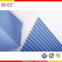 Buy cheap Hot sale clear polycarbonate fiberglass flat roof panel from wholesalers