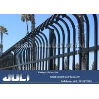 Buy cheap curve top tubular security fencing, bend top tubular security fencing from wholesalers