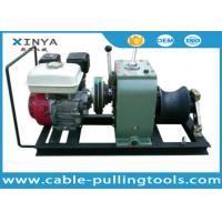 Buy cheap 3 Ton Petrol Engine Powered Used Winch For Sale With GX160 Honda engine from wholesalers