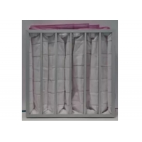 Buy cheap Polyester Ahu 3500m³/H Pocket Air Filter / Bag Filter F7 To F9 Efficiency product