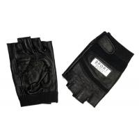 Buy cheap Black Half Finger Tactical Gloves,Material:Leather,Nylon,Size: S M L XL from wholesalers