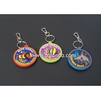 Buy cheap Custom design wedding travel museum aquarium zoo souvenir double side pvc rubber keychain from wholesalers