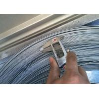 Buy cheap 1 . 6MM 1900Mpa Galvanized Steel High Carbon Wire , Mattress & Hose Spring Wire from wholesalers