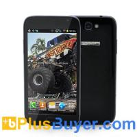 Buy cheap Smash - 5.3 Inch Android Phone (Qualcomm 1GHZ Dual Core CPU, 854x480, Dual Camera, 4GB) from wholesalers
