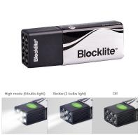 Pocket Carrying Powerful LED Flashlight 0.6W Power With Flash Alarm Mode