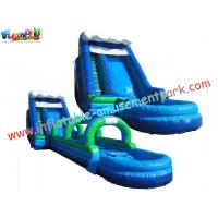 Buy cheap Renting Commercial, Home Backyard PVC tarpaulin Outdoor Inflatable Water Slides for Kids from wholesalers