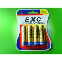 Buy cheap LR6 AA alkaline battery for 4pcs blister card from wholesalers