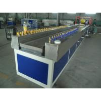 Buy cheap WPC Profile Production Line , Twin Screw Extruder For Baseboard from wholesalers