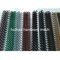 Buy cheap 1.2mm X 8mm Metal Mesh Drapery Aperture Aluminum Coil Mesh For Space Divider from wholesalers
