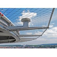 Buy cheap Suspended Anti Fall Stainless Steel Architectural Mesh 60 Degree Angle from wholesalers