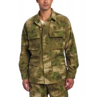 Buy cheap Men Army Camouflage Uniform , Cotton Ripstop Battle Dress Uniform from wholesalers