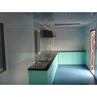 Buy cheap Durable Luxury PVC Floor 20 FT Container Home Kit , Prefab Office House from wholesalers