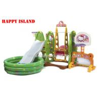 Buy cheap Colorful  Playground Kids Toys  With Ball Pool , Football Gate , Baby Swing from wholesalers