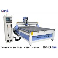 Buy cheap 6 Zones Vacuum Table ATC CNC Router Machines With Linear Tools Holders On End Side from wholesalers