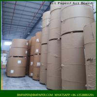 Buy cheap White Virgin Uncoated Bond Paper Jumbo Roll from wholesalers