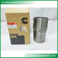 Buy cheap QSX15 Dongfeng Cummins Cylinder Liner 4089135 Alloy Steel Material Customized product