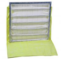 Buy cheap Synthetic Fiber Commercial Air Filters Bag Shaped Large Relative Humidity 100% from wholesalers