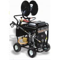 Buy cheap Portable Commercial Pressure Washers 5000 PSI 350BAR 24HP SAE30 Pump Oil Type from wholesalers