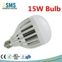 Buy cheap 2014 New design high bright aluminum plastic led bulb lighting 15w E27 AC220V from wholesalers