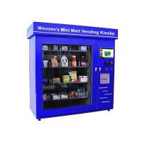 Buy cheap Snack Beverage Combo Food Kiosk Machines with 5 ms Response Time Fixed Touch Sensitivity from wholesalers