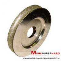 Buy cheap Electroplated Diamond/ CBN Grinding Wheels lucy.wu@moresuperhard.com from wholesalers