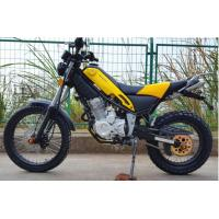 Buy cheap Steel Off Road Dirt Bike , 250cc 6 Gear Road Registered Dirt Bike Yellow Color from wholesalers