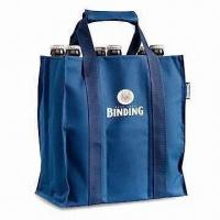 Buy cheap Wine Bottle Bag, Eco-friendly Promotional Materials, Available in Various Colors and Sizes from wholesalers