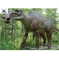 Buy cheap Forest Decoration Full Size Dinosaur Models, Outdoor Resin Animal Statues from wholesalers