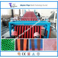 Buy cheap PVC Anti Slip Mat Making Machine PVC Mat Extrusion Machine Plastic Mat Production Line from wholesalers