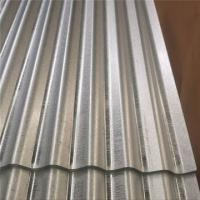 Buy cheap Dipped Galvanized Corrugated Sheet As Per JIS G3302 SGCH Regular Spangle Chromated product