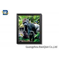 Buy cheap 75LPI - 200LPI Plastic 3D Lenticular Pictures For Advertising / 3D Animals Images from wholesalers