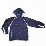Buy cheap Men's heavy nylon taslan insulation padded winter jacket with milky coating, waterproof from wholesalers