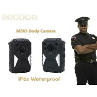 Buy cheap Weaterproof police body mounted cameras Support on 1296P Resolution With IR Function product