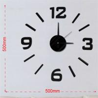 Buy cheap Decorative wall sticker clock, EVA wall clock for home decor from wholesalers