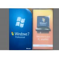 Buy cheap 100% Activable Windows 7 Professional Retail Box Packed With CD DVD product