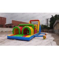 Buy cheap Jumper Bouncy Obstacle Course Rental Waterproof Customized from wholesalers
