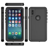 Buy cheap Waterproof IPX8 Mobile Phone Protective Cases Black Color For IPhone X from wholesalers