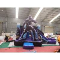 Buy cheap Marvel Superhero  Inflatable Bounce House Combo Customized Size from wholesalers