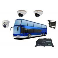 Buy cheap 4 Ch 4G Mobile DVR With GPS Tracking / G-Sensor , 2 Memory Card Real Time Monitoring from wholesalers