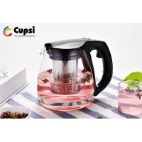 Buy cheap Optional Colors Heat Resistant Glass Teapot Classic Style Brew Tea Usage from wholesalers