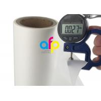 Buy cheap Super Transparent Soft Touch Lamination Film 180mm - 1000mm Roll Width from wholesalers