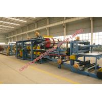 Buy cheap Colored Steel Sheet / EPS Sandwich Panel Production Line With PLC Control from wholesalers