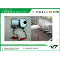Buy cheap Steel Supermarket Trolley Lock / Supermarket Accessories trolley locks coin operated from wholesalers