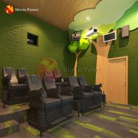 Buy cheap Forest Theme 4d 5d Theater Movie Power Interactive Motion Seats Cinema Chairs from wholesalers