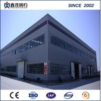 Buy cheap Modular prefab steel structure factory workshop with H section Steel from wholesalers