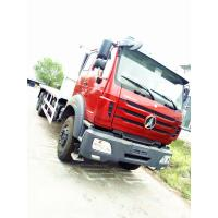 Buy cheap Red Color Prime Mover Truck For Transporting , Beiben 6x4 16 Ton Flatbed Truck from wholesalers